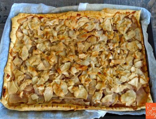 tarte pommes rustique