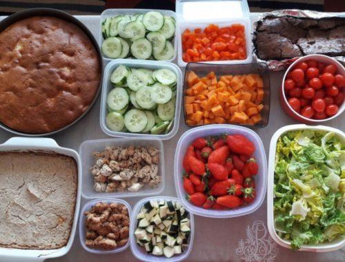 Meal prep ou comment j'organise mes repas à l'avance