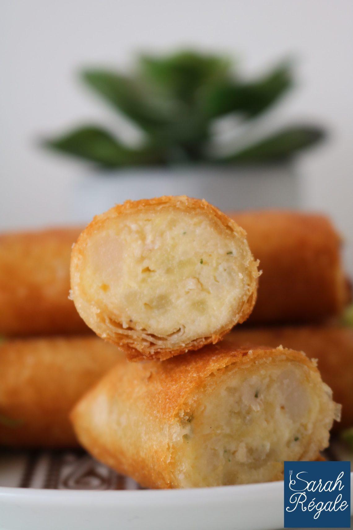 Boureks aux pommes de terre